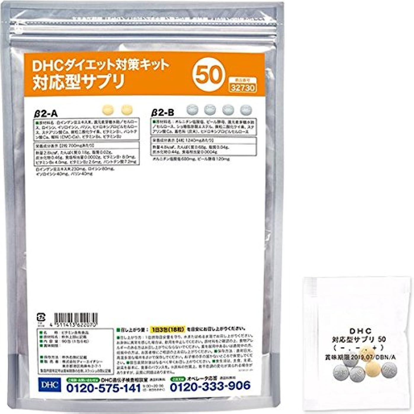 シーフード貪欲純粋なDHCダイエット対策キット対応型サプリ50