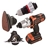 ブラックアンドデッカー(BLACK+DECKER) マルチツール プラス 18V EVO183P1