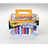 Crayola 52 Ct Chalk Carton [並行輸入品]