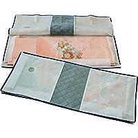 アストロ 着物収納ケース 2枚組 活性炭入り 不織布製 活性炭のチカラで消臭効果をプラス たとう紙より丈夫な着物専用ケースです 171-22