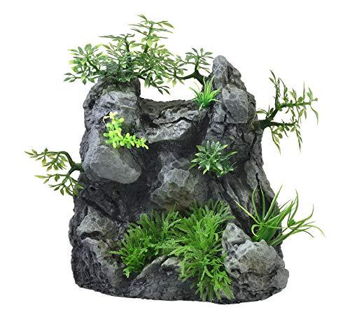 ジェックス 癒し水景 アクアキャンバスフォール 水槽用オーナメント プロのような滝が作れる人工水草