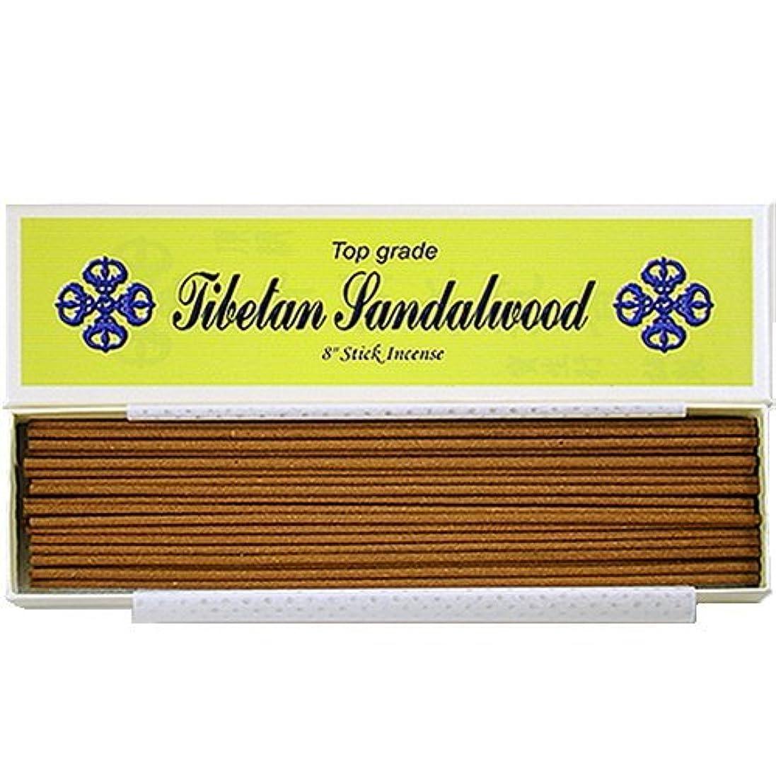 軍メイド区20cm Top Grade Tibetan Sandalwood Stick Incense - 100% Natural - J007Tr-r1