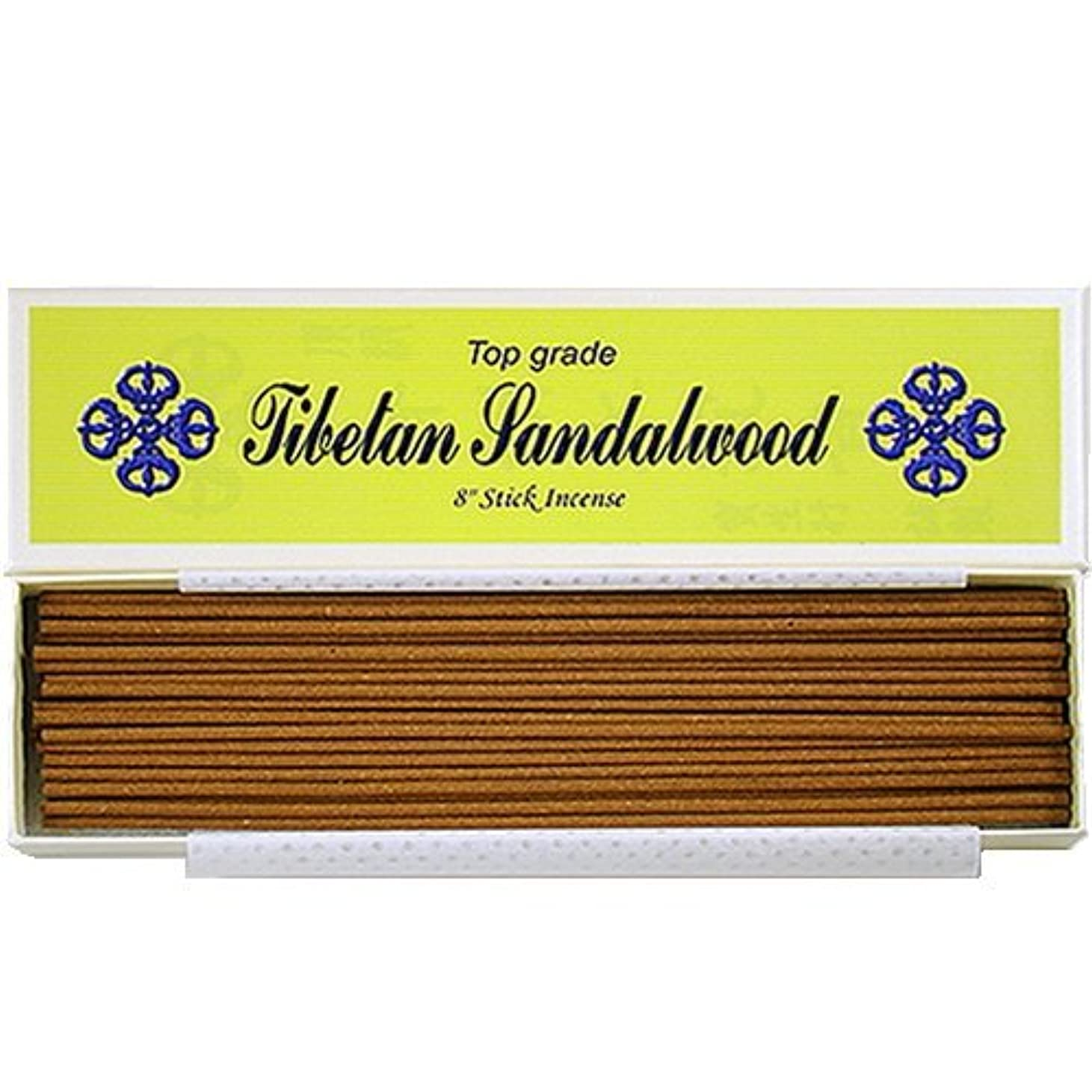 臨検投げる情緒的8 Top Grade Tibetan Sandalwood Stick Incense - 100% Natural - J007Tr-r1 [並行輸入品]