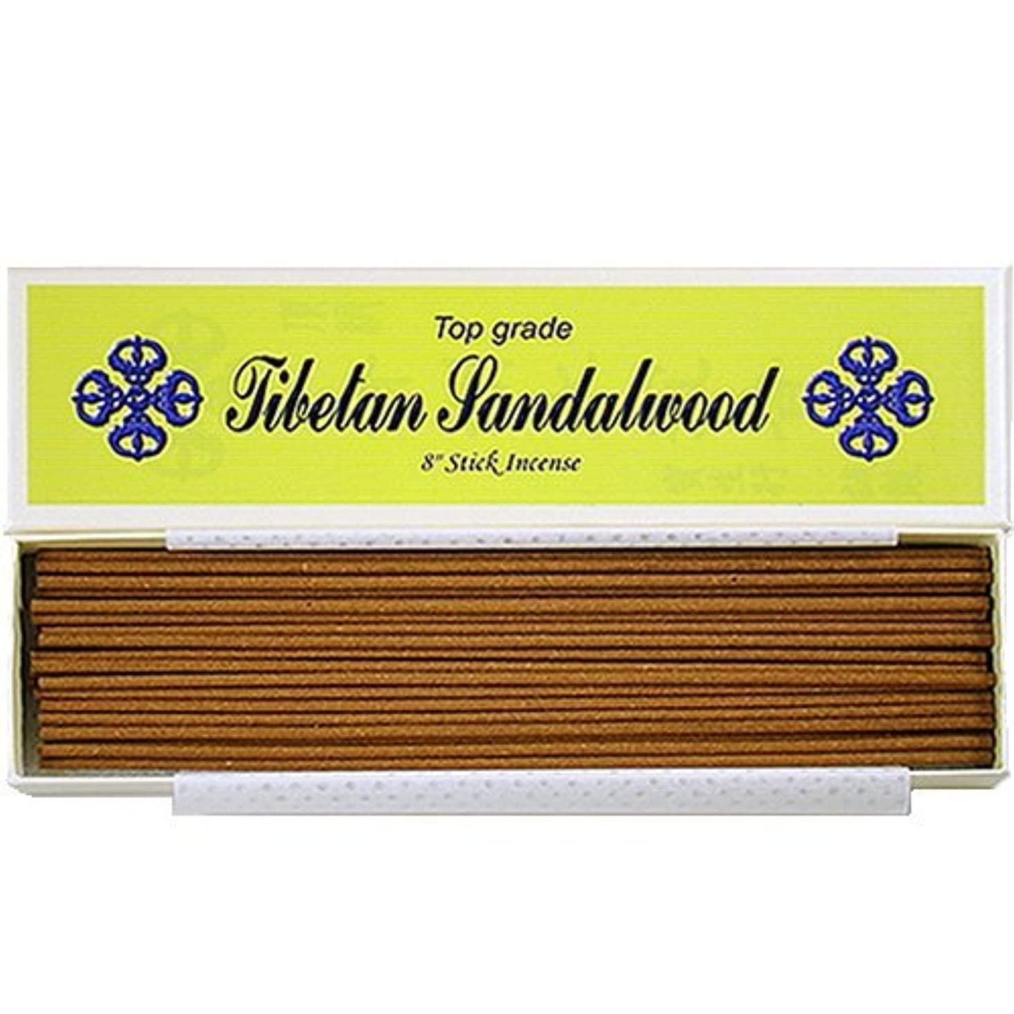従事する時間世界の窓8 Top Grade Tibetan Sandalwood Stick Incense - 100% Natural - J007Tr-r1 [並行輸入品]