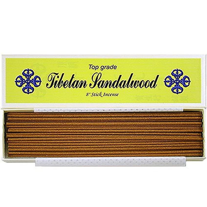 真夜中気付くパイプライン8 Top Grade Tibetan Sandalwood Stick Incense - 100% Natural - J007Tr-r1 [並行輸入品]