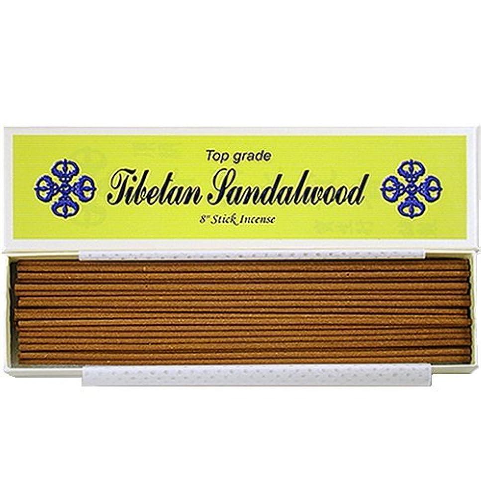支払うかんがい分子20cm Top Grade Tibetan Sandalwood Stick Incense - 100% Natural - J007Tr-r1