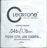 [Cleartone] クリアトーン アコースティック・ギター弦 バラ弦 .046
