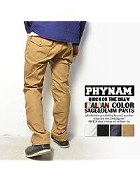 (ファイナム)PHYNAM ITALIAN COLOR SAGE & DENIM PANTS