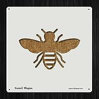 バグBumble Bee Buzz Honeyスタイル10671DIYプラスチックステンシルアクリルMylar再利用可能な