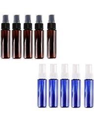 スプレー容器 スプレーボトル30ML 遮光瓶スプレー 10本 アロマ虫除けスプレー プラスチック製
