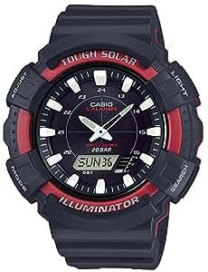 [カシオ] 腕時計 スタンダード ソーラー AD-S800WH-4AJF メンズ ブラック