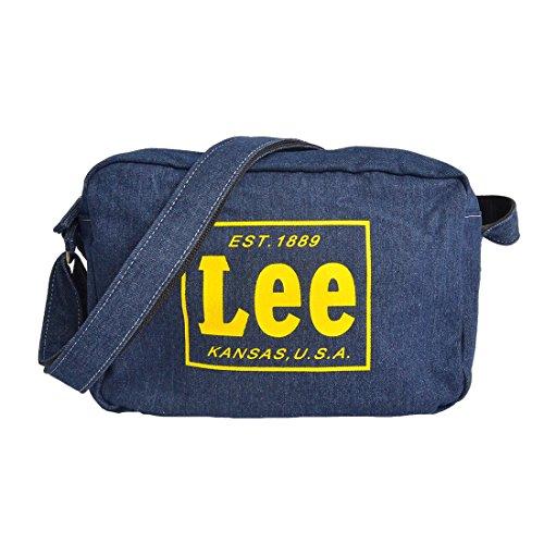 a529ba563ffe5 [リー] Lee ショルダーバッグ デニム 通園バッグ 幼稚園 バッグ 通学 キッズ 子ども スクールバッグ