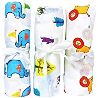 Lightning Deal Muslin Baby Swaddle. Multi Use Cotton Baby Swaddling Blanket, Baby Nursing Cover, Baby Car Seat Cover, & Bibs. Baby Receiving Blanket For Baby Shower Like Aden And Anais Swaddle Blanket by Pretty Baby