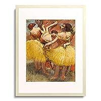 エドガー・ドガ Edgar Degas 「Three Dancers. Circa 1900」 額装アート作品
