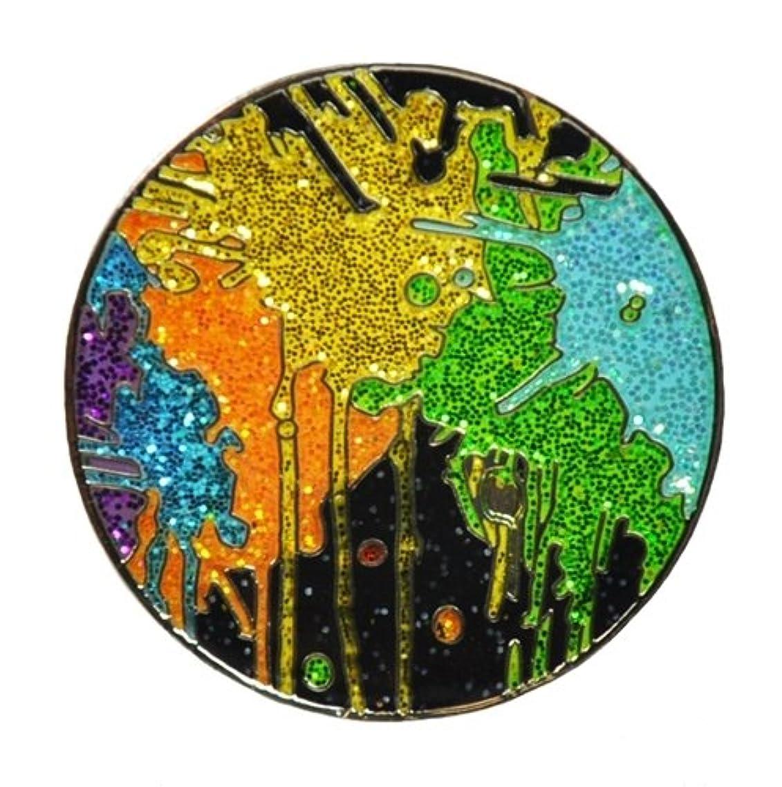 二次しばしば証書Loudmouthゴルフボールマーカー&帽子クリップby Navika – Paint Balls with Crushedクリスタル