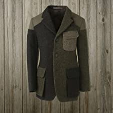 Nigel Cabourn Crazy Mallory Jacket: Patchwork