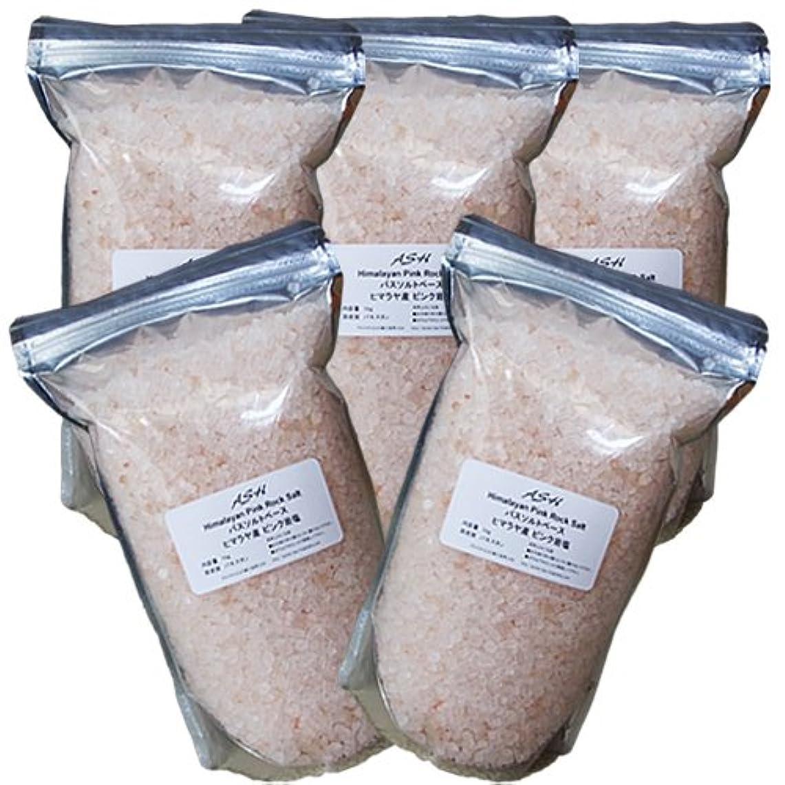 ズームインする圧倒的スナックヒマラヤ岩塩 ピンクソルト 5kg バスソルトベース