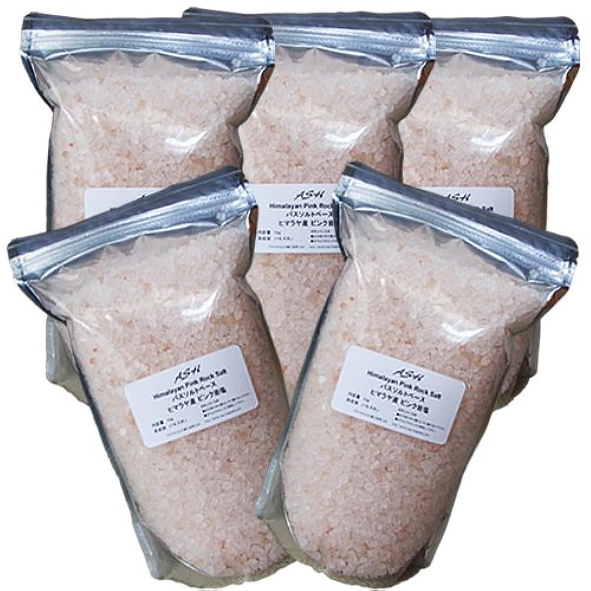 ナインへ準備スキップヒマラヤ岩塩 ピンクソルト 5kg バスソルトベース