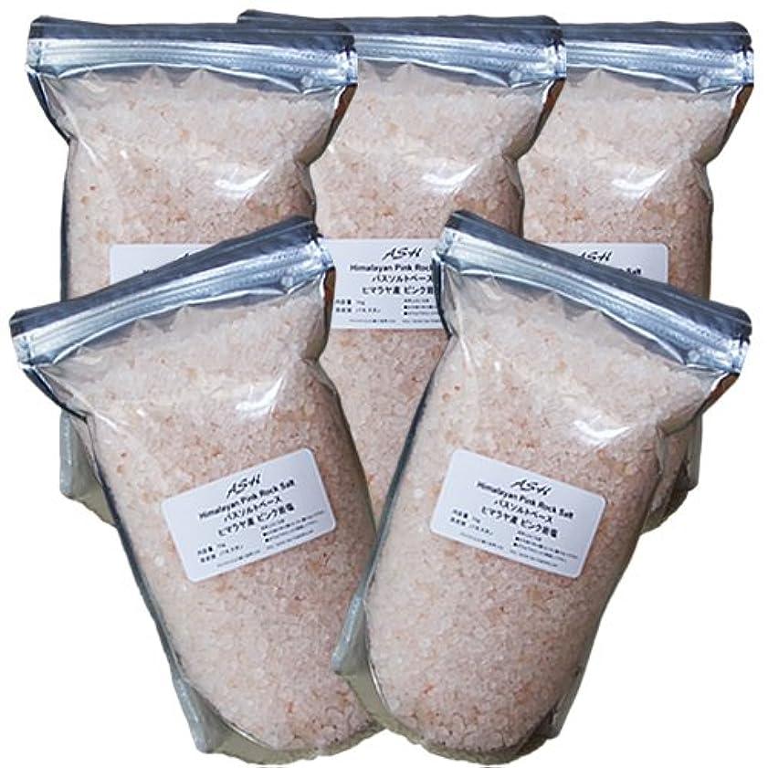 不注意仕事に行く凍結ヒマラヤ岩塩 ピンクソルト 5kg バスソルトベース
