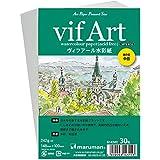 マルマン ポストカード 絵手紙用 ヴィフアール中目 S143VC 5冊セット