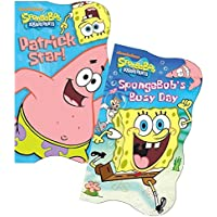 SpongeBob SquarePants Shaped Board Books (Set of 2) [並行輸入品]