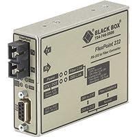 ブラックボックスFlexpoint RS - 232toファイバコンバータ、850-nmマルチモード、2.5KM , SC–1x SCポート–No–rack-mountable、壁マウント可能、デスクトップ–me660a-msc