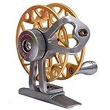 Panegy チヌ用リール メタル フライリール 防波堤 落とし込み 釣り(ゴールド)