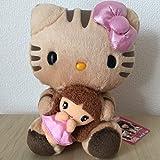 ハローキティ×しょこたん 中川翔子コラボ 飼い猫マミタスぬいぐるみ 2007年製 サンリオ