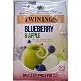 Twinings Blueberry & Apple Teabags - 4 x 20's