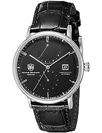 [ドゥッファ]DUFA 腕時計 AlbersAutomatic ブラック文字盤 自動巻 DF-9010-01 メンズ 【正規輸入品】