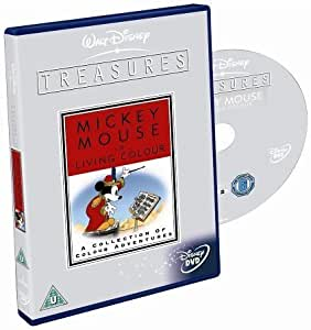 Walt Disney Treasures - Mickey In Living Colour [Import anglais]