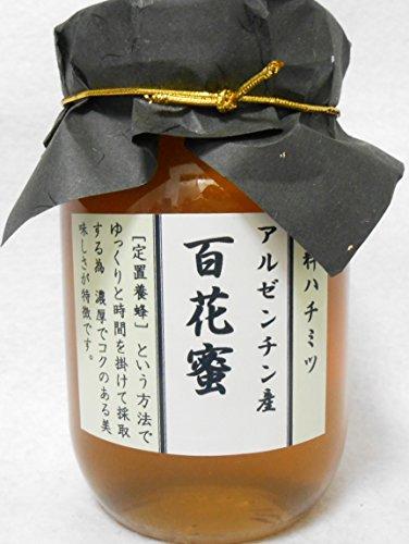 アルゼンチン産百花蜜600g 濃厚でコクのある蜂蜜です。