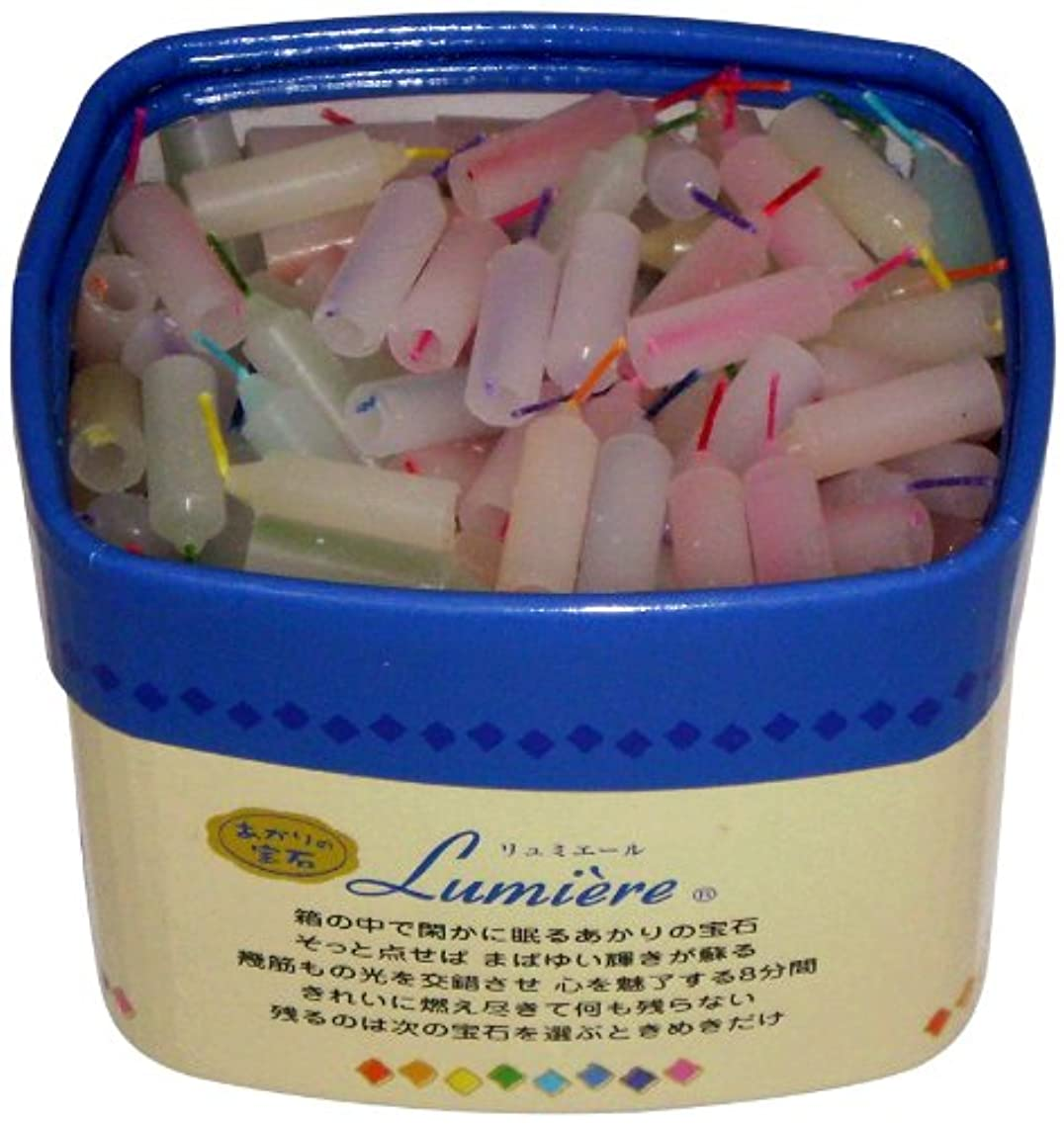 予知販売員コモランマ東海製蝋 ミニローソク リュミエール 8分 約330本 171-07