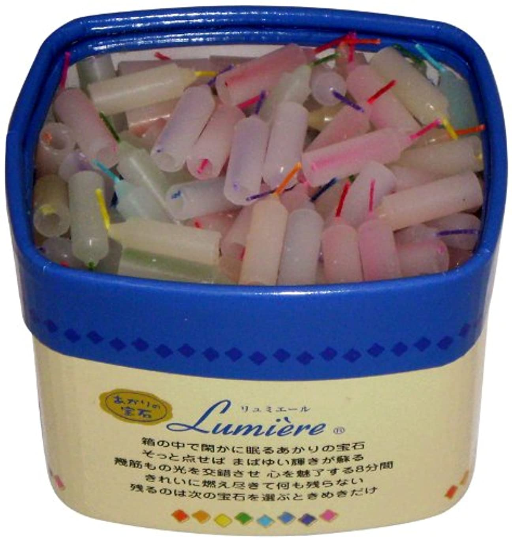 練る口述加速する東海製蝋 ミニローソク リュミエール 8分 約330本 171-07