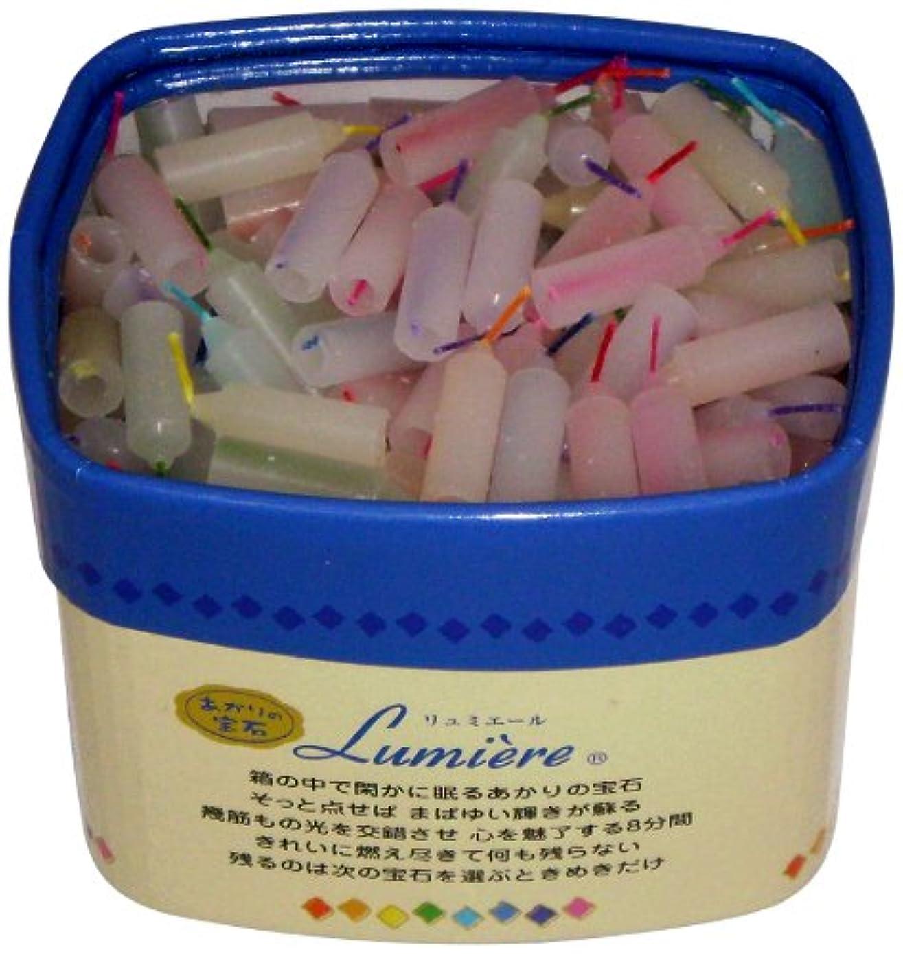 用量前置詞タンク東海製蝋のろうそく リュミエール 8分