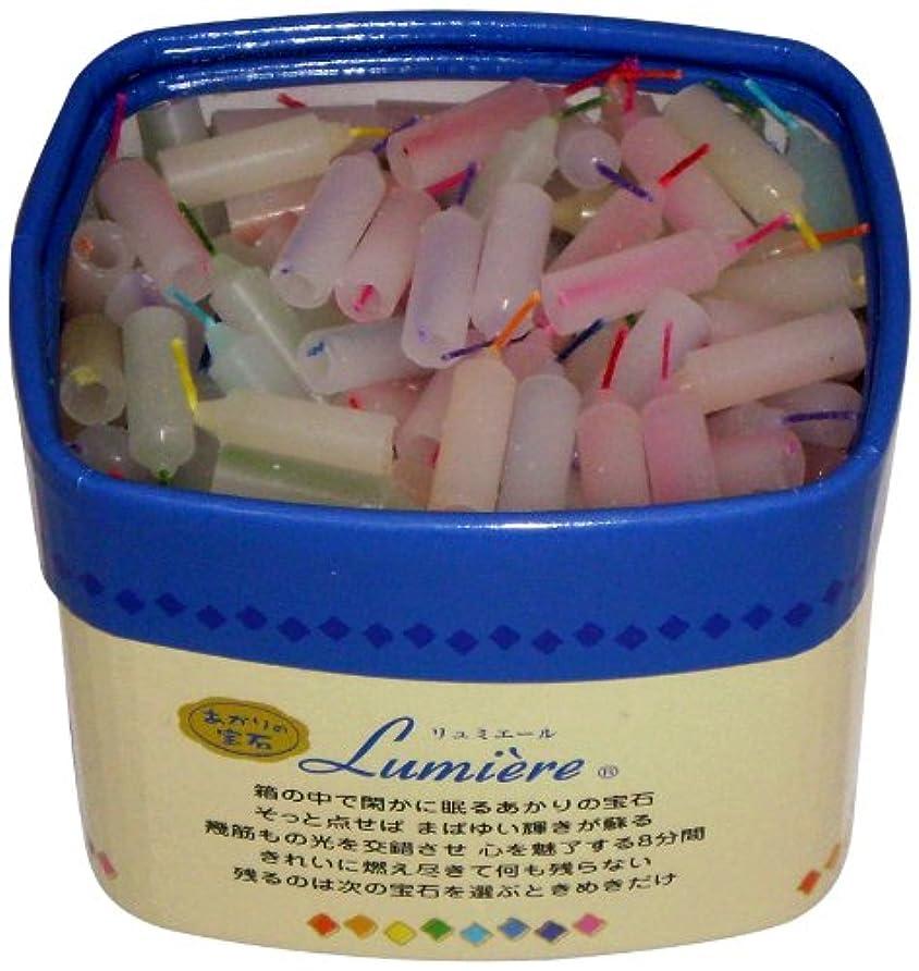 嘆願ウィンクパニック東海製蝋 ミニローソク リュミエール 8分 約330本 171-07
