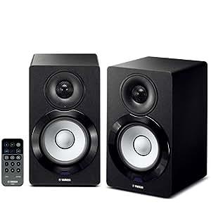 ヤマハ PCスピーカー ネットワーク/Bluetooth/Wi-Fi アンプ内蔵 USBDAC機能 ハイレゾ音源対応 ブラック NX-N500(B)
