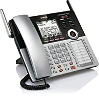 VTech CM18445 Main Console - DECT 6.0 4-Line Expandable Small Business Office Phone with Answering System [並行輸入品]