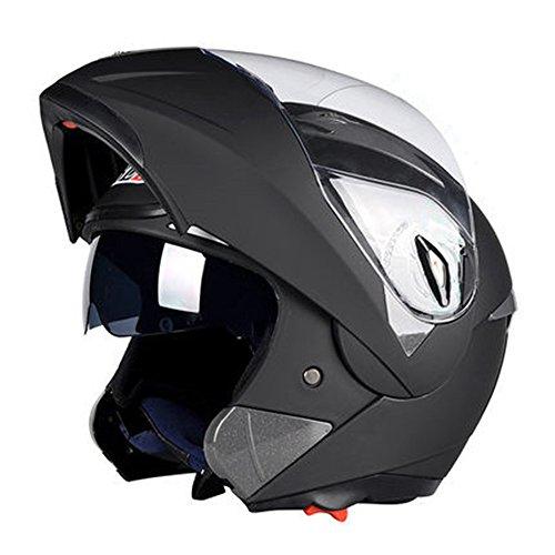 バイクヘルメット フルフェイス システムヘルメット 男女兼用ヘルメット 多色選択可能 春、秋、冬 PSC付き ZR-158【商品4/L】