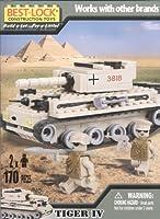 Best Lock * Tiger 4タンク& 2Figures * 170ピース