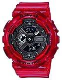 [カシオ] 腕時計 ベビージー BA-110CR-4AJF レディース レッド