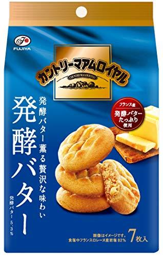 不二家 カントリーマアムロイヤル(発酵バター) 7枚 ×5個