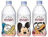伊藤園 Evian(エビアン) ミネラルウォーター ディズニーラベル 750ml×12本[正規輸入品]