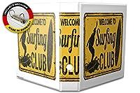 バインダー 2 Ring Binder Lever Arch Folder A4 printed Surfing Club