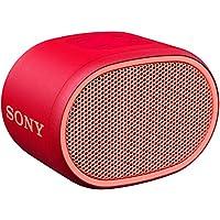 ソニー SONY ワイヤレスポータブルスピーカー SRS-XB01 R : 防水 Bluetooth スマホなしで操作可能 ストラップ付属 2018年モデル レッド