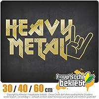 KIWISTAR - Heavy Metal Hardcore Trash Guitar Drums 15色 - ネオン+クロム! ステッカービニールオートバイ
