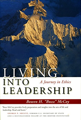 Download Living Into Leadership: A Journey in Ethics 0804755760