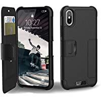URBAN ARMOR GEAR iPhone XS / X(5.8インチ)対応ケース Metropolis 手帳型 ブラック 【日本正規代理店品】 UAG-IPHXF-BK