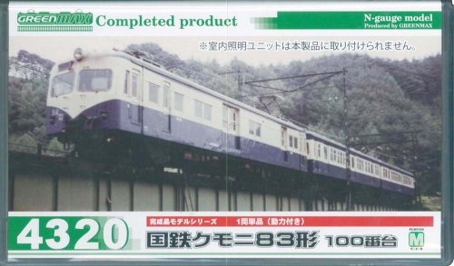 グリーンマックス<4320>国鉄クモニ83形100番台 1両単品(M付き)