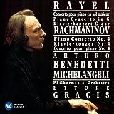 ラヴェル:ピアノ協奏曲 ラフマニノフ:ピアノ協奏曲第4番(クラシック・マスターズ) 画像